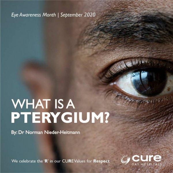 CURE_What is a pterygium